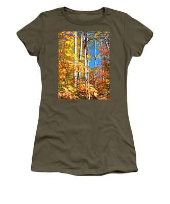 Gold Autumn Women's T-Shirt
