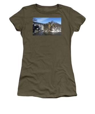Great Falls In Color Women's T-Shirt