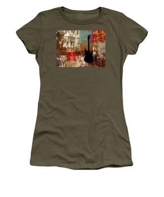 Guitar Solo Women's T-Shirt