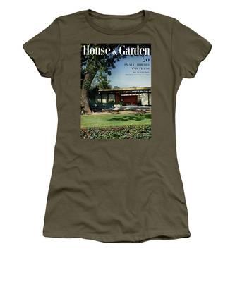 House & Garden Cover Of The Kurt Appert House Women's T-Shirt