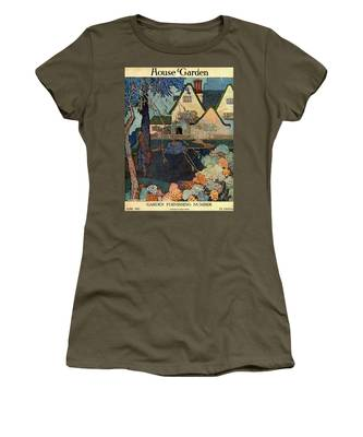 House And Garden Garden Furnishing Number Cover Women's T-Shirt