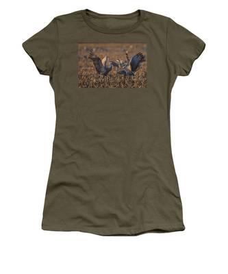 Kissing Sandhills Women's T-Shirt