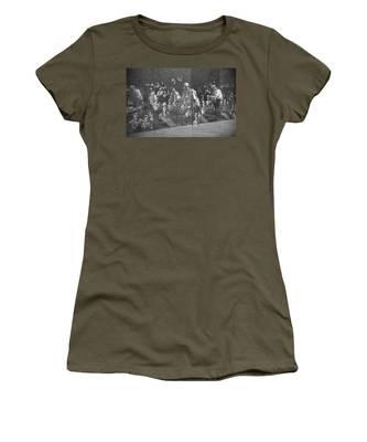 Women's T-Shirt featuring the photograph Korean War Veterans Memorial by Jemmy Archer