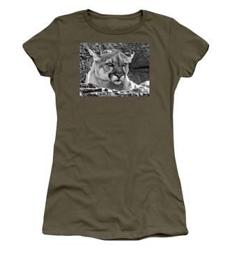 Mountain Lion Bergen County Zoo Women's T-Shirt