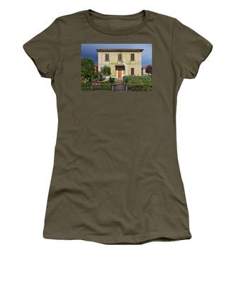 Old House In Crespi D'adda Women's T-Shirt