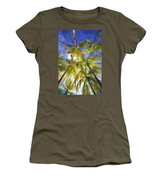 Palm Trees Of Aruba Women's T-Shirt