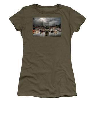 Port At Como Lake Women's T-Shirt