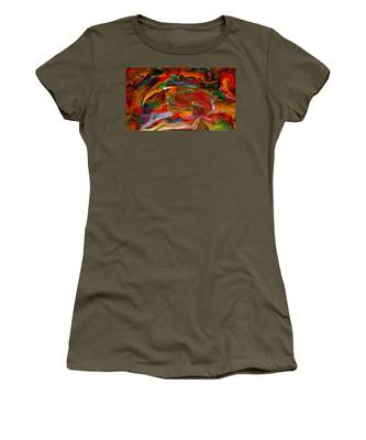 Rainbow Blossom Women's T-Shirt