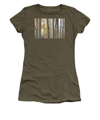 Rainy Day Aspen  Women's T-Shirt