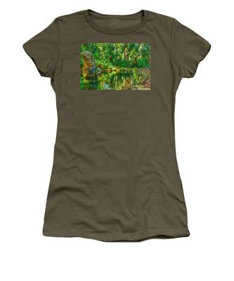 Reflecting On The Day Women's T-Shirt