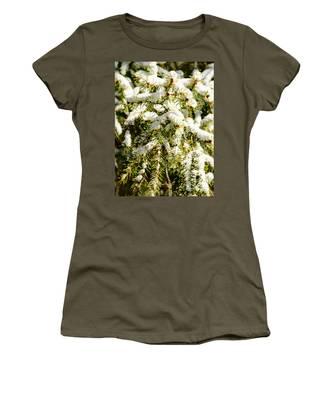 Snowy Pines Women's T-Shirt
