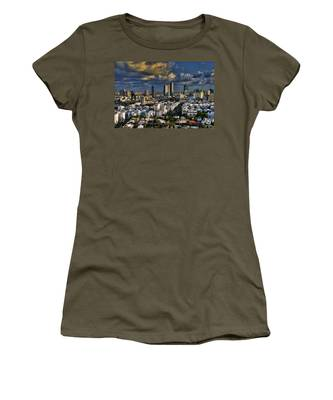 Tel Aviv Skyline Fascination Women's T-Shirt
