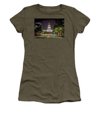 The Texas Capitol Building Women's T-Shirt