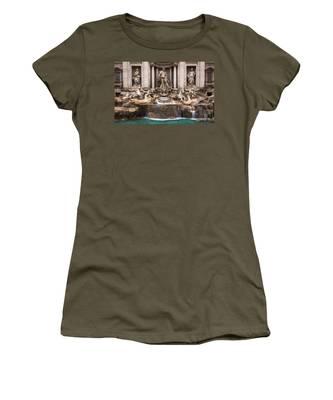 Trevi Fountain Women's T-Shirt