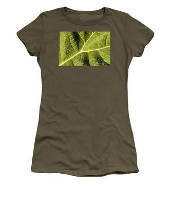 Veins Of A Leaf Women's T-Shirt