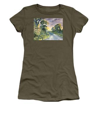Wild Roses On The Wolds Women's T-Shirt