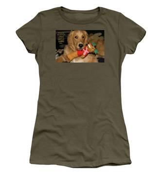 Wish For A Christmas Friend Women's T-Shirt