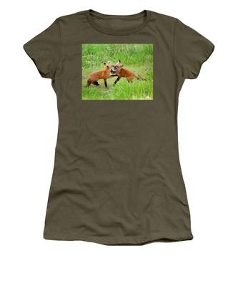 With Kit Gloves Women's T-Shirt