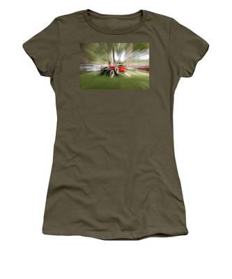 Red Antique Car Women's T-Shirt
