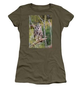 Great Horned Owl Women's T-Shirt