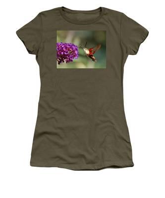 Hummingbird Moth Women's T-Shirt