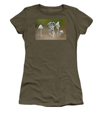 Ink-cap Mushrooms Women's T-Shirt