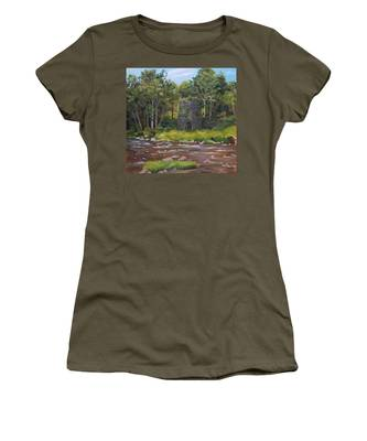 Iron Furnace Of Franconia New Hampshire Women's T-Shirt