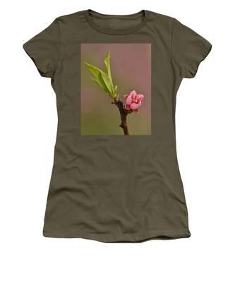 Petite Peach Women's T-Shirt