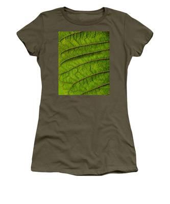 Poinsettia Leaf II Women's T-Shirt