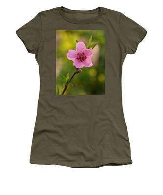 Pretty Pink Peach Women's T-Shirt