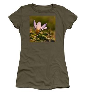 Purple Crocus Women's T-Shirt