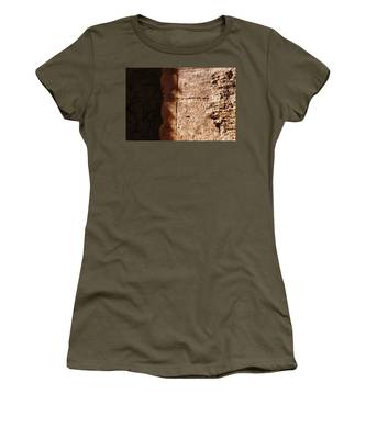 Red Texture Women's T-Shirt
