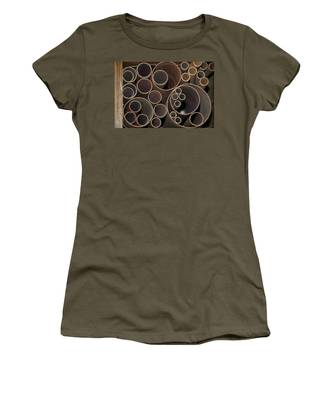 Round Sandpaper Women's T-Shirt