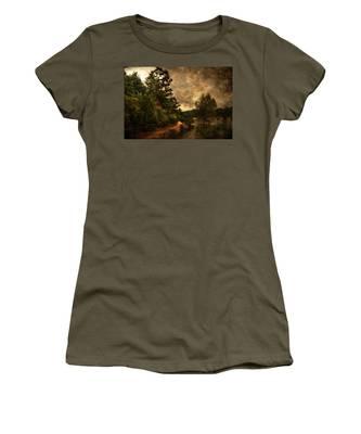 Textured Lake Women's T-Shirt