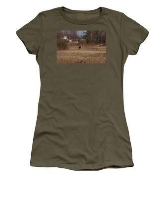 Whitetail Deer Women's T-Shirt
