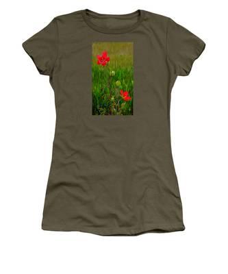 Texas Star Hibiscus Women's T-Shirt
