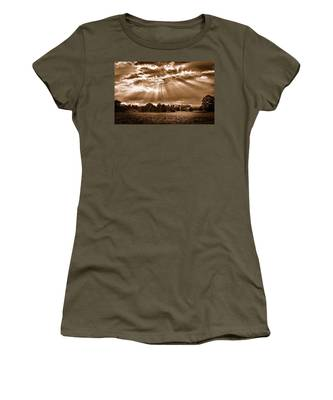 And The Heavens Opened 3 Women's T-Shirt