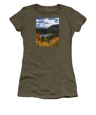 Autumn At Rock Creek Lake 2 Women's T-Shirt