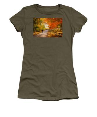 Autumn Path Women's T-Shirt