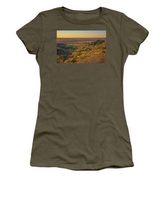 Autumn View At Waubonsie State Park Women's T-Shirt