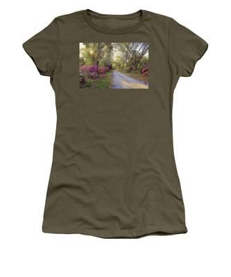 Azalea Lane By H H Photography Of Florida Women's T-Shirt