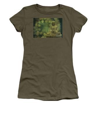 Buddha Light Gold Women's T-Shirt