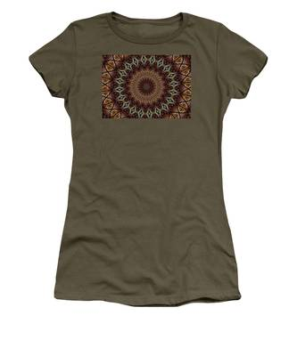Butterfly Bush Mandala Women's T-Shirt
