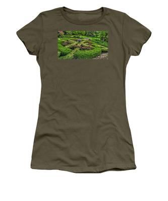 Celtic Topiary At Frelinghuysen Arboretum Women's T-Shirt