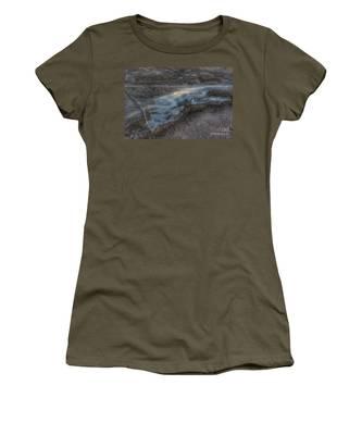 Delaware Water Gap In Winter #6 Women's T-Shirt