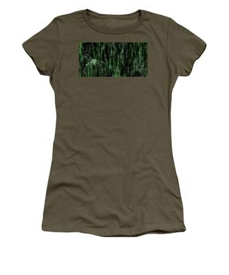 Digital Dragonfly Women's T-Shirt