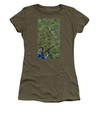 Downward Views #001 Women's T-Shirt