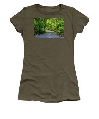 Fern Gully In Ocho Rios Jamaica Women's T-Shirt