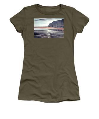 From Dane's Dyke Towards Bridlington Women's T-Shirt