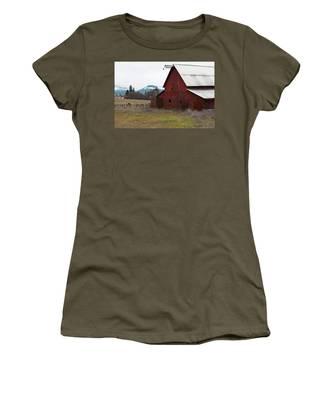 Hayfork Red Barn Women's T-Shirt